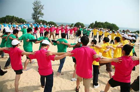 珠海团队拓展培训项目之大型沙滩