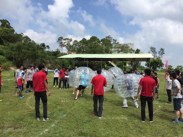 珠海龙翔生态园拓展训练基地 非凡团建图片