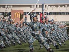 吉林大学珠海学院2018年新生军训